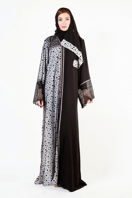 latest designer abaya gowns with hijab designs 20162017
