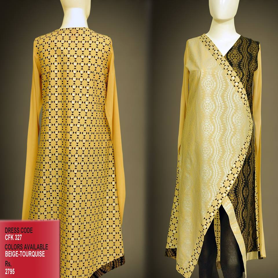 Designer Catalog: Latest Styles & Designs Of Women Kurtas 2016-17 By Change