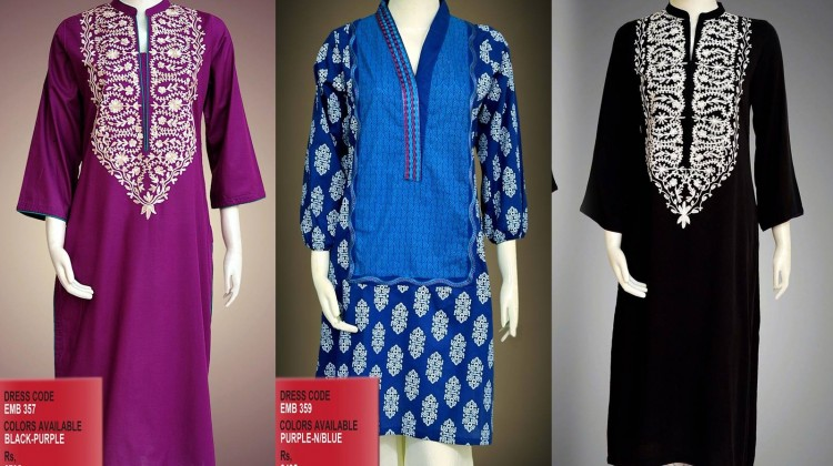 New Asian Fashion Latest Kurta Styles & Designs Collection 2015-2016 by Change