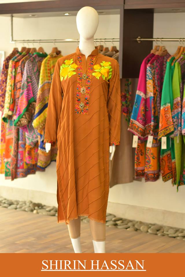 New Digital Kurtis & Suits By Shirin Hassan Winter Collection 2015 (13)