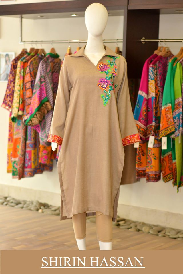 New Digital Kurtis & Suits By Shirin Hassan Winter Collection 2015 (18)