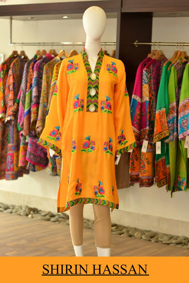 New Digital Kurtis & Suits By Shirin Hassan Winter Collection 2015 (22)