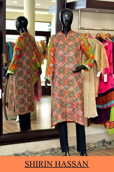 New Digital Kurtis & Suits By Shirin Hassan Winter Collection 2015 (25)