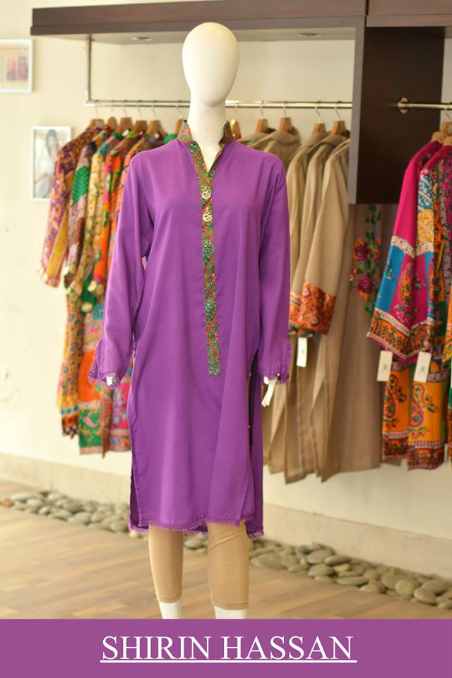 New Digital Kurtis & Suits By Shirin Hassan Winter Collection 2015 (29)