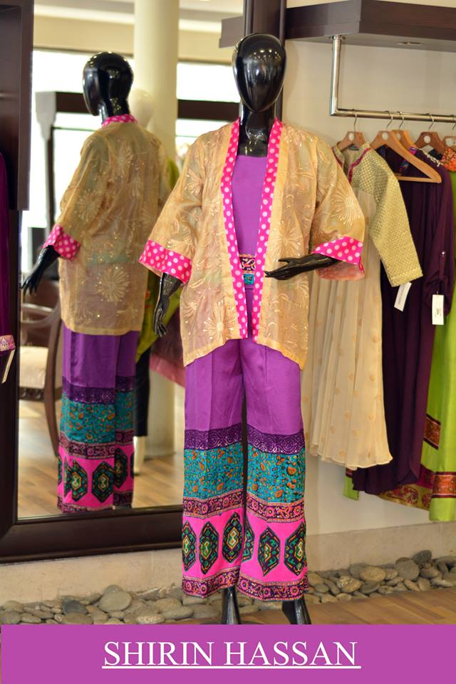 New Digital Kurtis & Suits By Shirin Hassan Winter Collection 2015 (3)