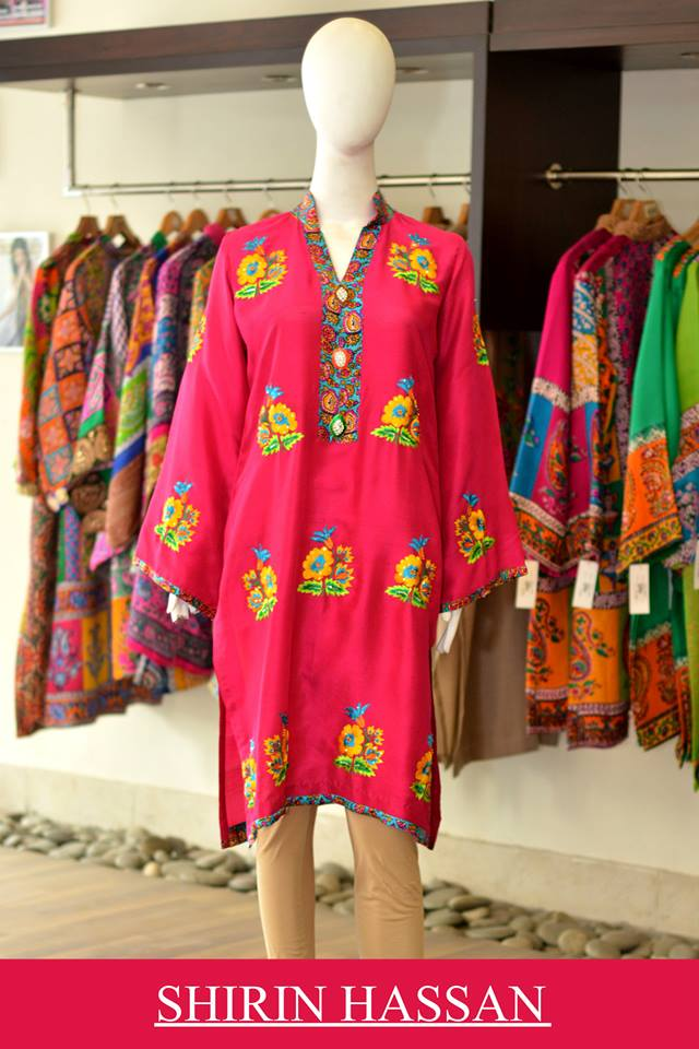 New Digital Kurtis & Suits By Shirin Hassan Winter Collection 2015 (7)