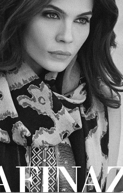 Sana Safinaz Latest Winter Shawls Collection Designer Ready Made Dresses for Women 2014-2015 (13)