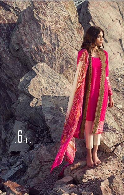 Sana Safinaz Latest Winter Shawls Collection Designer Ready Made Dresses for Women 2014-2015 (25)