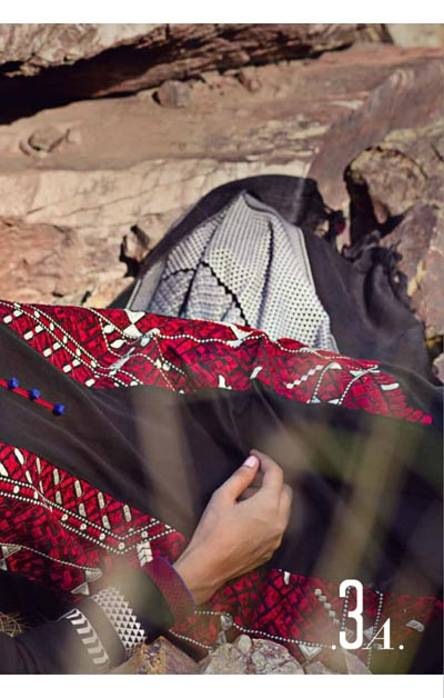 Sana Safinaz Latest Winter Shawls Collection Designer Ready Made Dresses for Women 2014-2015 (27)