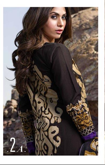 Sana Safinaz Latest Winter Shawls Collection Designer Ready Made Dresses for Women 2014-2015 (4)