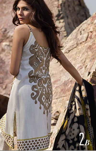 Sana Safinaz Latest Winter Shawls Collection Designer Ready Made Dresses for Women 2014-2015 (5)