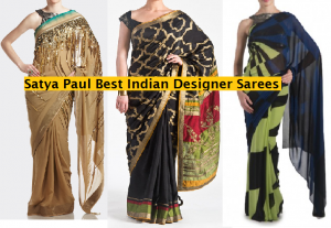 Satya Paul Indian Designer Saree Designs Collection 2015-2016 for Weddings & Parties (1)