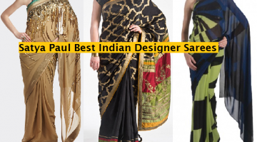 Satya Paul Indian Designer Saree Designs Collection 2015-2016 for Weddings & Parties (1)
