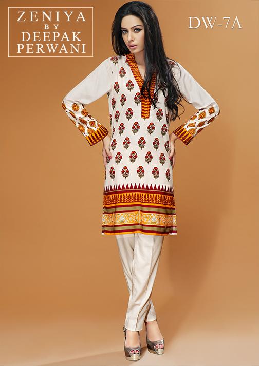 Zeniya By Deepak Perwani Latest Winter Shawl dresses Collection for Women 2014-2015 (22)