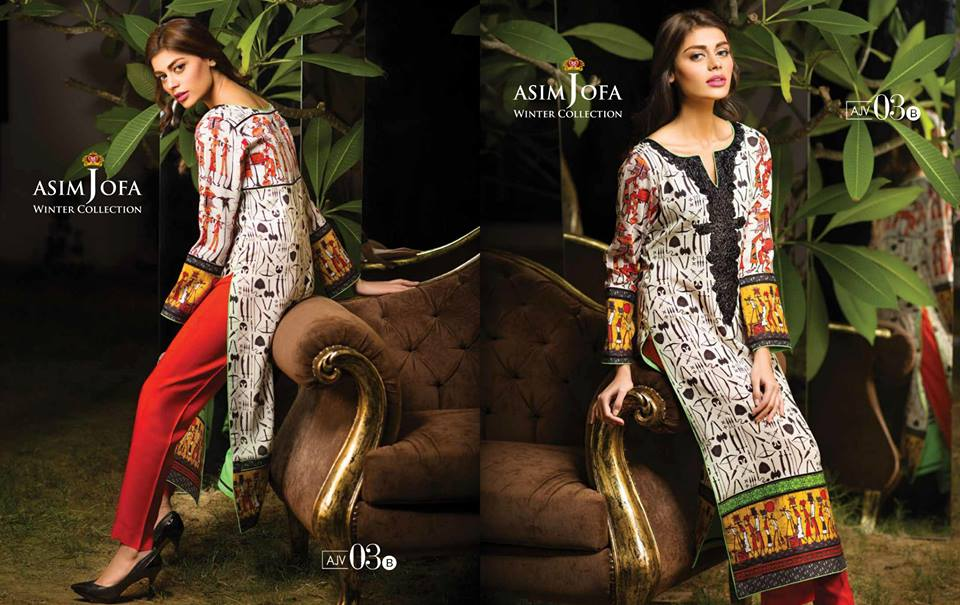Asim Jofa Latest Winter Embroidered Dresses Collection for Women 2014-2015 (12)