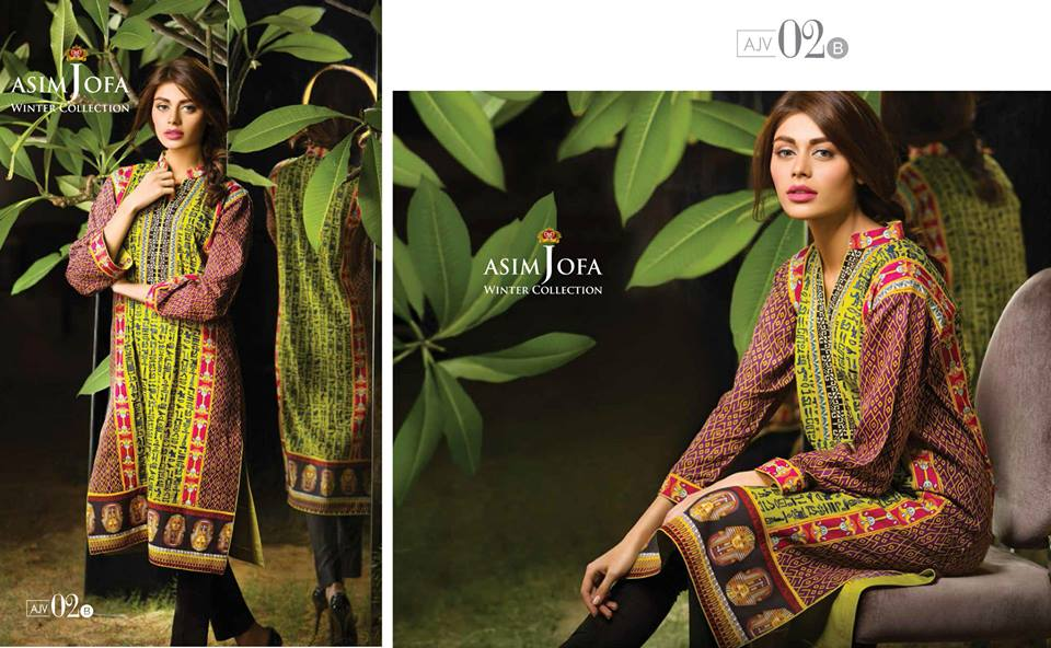 Asim Jofa Latest Winter Embroidered Dresses Collection for Women 2014-2015 (16)