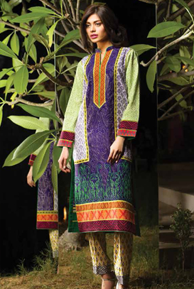 Asim Jofa Latest Winter Embroidered Dresses Collection for Women 2014-2015 (2)