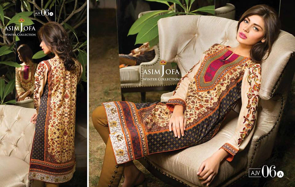 Asim Jofa Latest Winter Embroidered Dresses Collection for Women 2014-2015 (25)