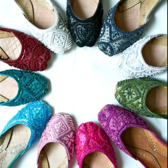 Beautiful Punjabi Khussa Shoes Trends in Asia – Latest Designs