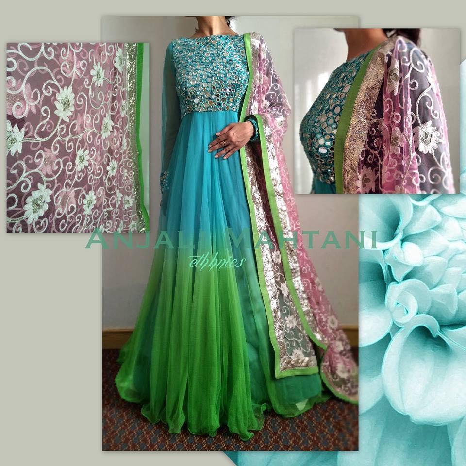 Latest Collection Asian fashion Long Pishwas Dresses & Anarkali Frocks for Women 2015-2016 (12)