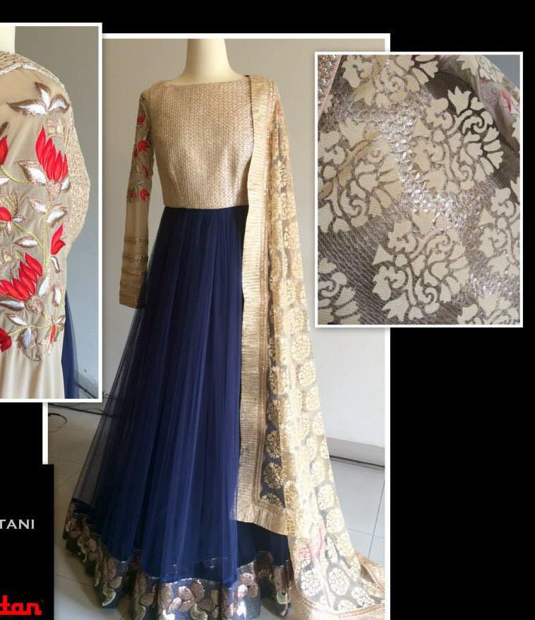 Latest Collection Asian fashion Long Pishwas Dresses & Anarkali Frocks for Women 2015-2016 (15)