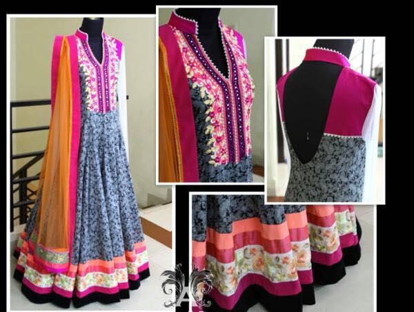 Latest Collection Asian fashion Long Pishwas Dresses & Anarkali Frocks for Women 2015-2016 (6)