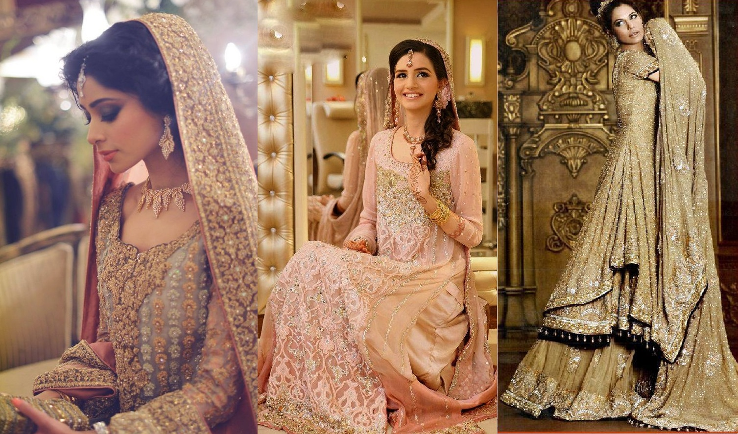 Latest Best Bridal Walima Dresses Designs 2016-17 for Weddings