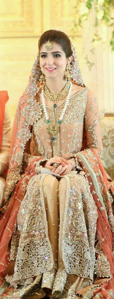 ... Styles & Designs of Bridal Walima Dresses Collection 2015-2016 (19
