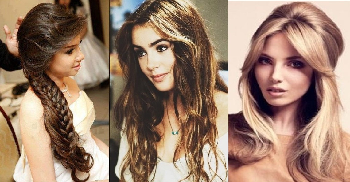 Long Hairstyles For Girls Step By Step Tutorial & Trends