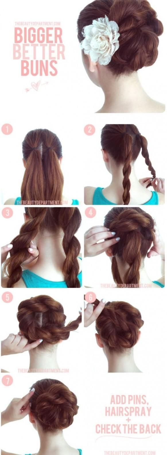 Long Hairstyles for Girls Step By Step Tutorial & Trends with Pictures (14)