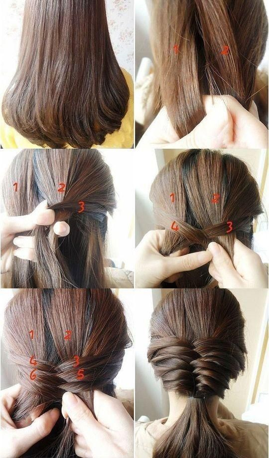 Long Hairstyles for Girls Step By Step Tutorial & Trends with Pictures (18)