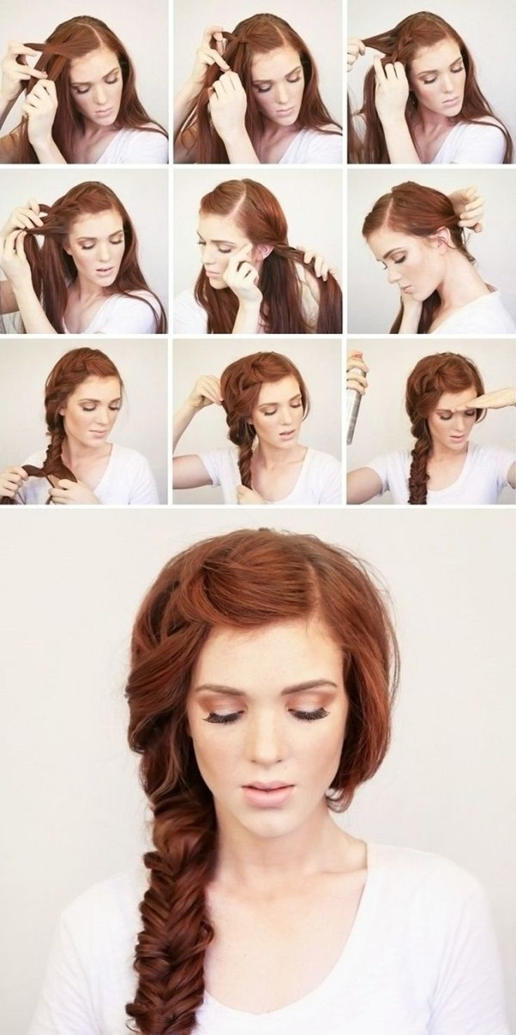 Long Hairstyles for Girls Step By Step Tutorial & Trends with Pictures (8)