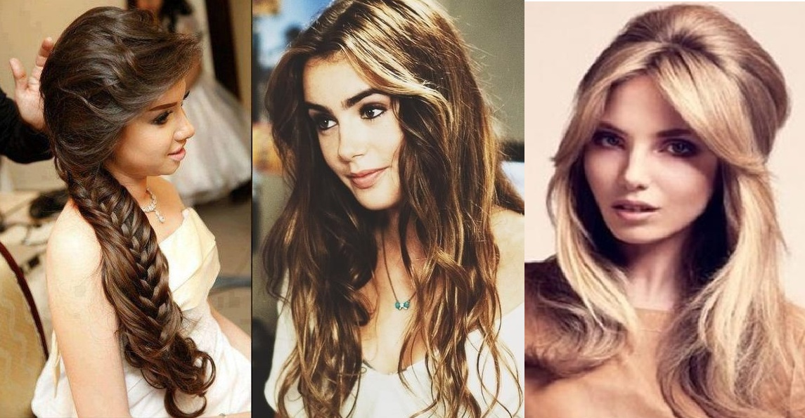 Admirable Long Hairstyles For Girls Step By Step Tutorial Amp Trends With Pictures Hairstyles For Women Draintrainus