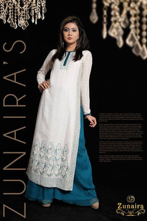Pakistani Party Wear Dresses by Zunaira Lounge Formal Dresses Collection 2015-16 for Women (20)