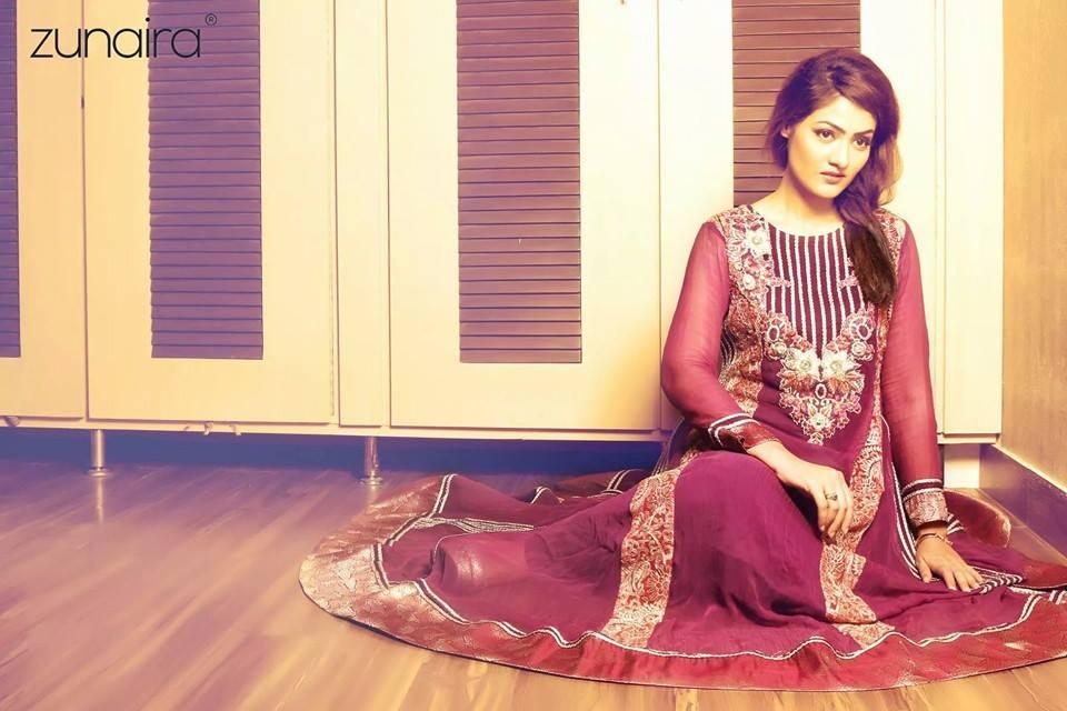 Mehndi Party Dresses 2018 : Pakistani party wear dresses frocks by zunaira lounge
