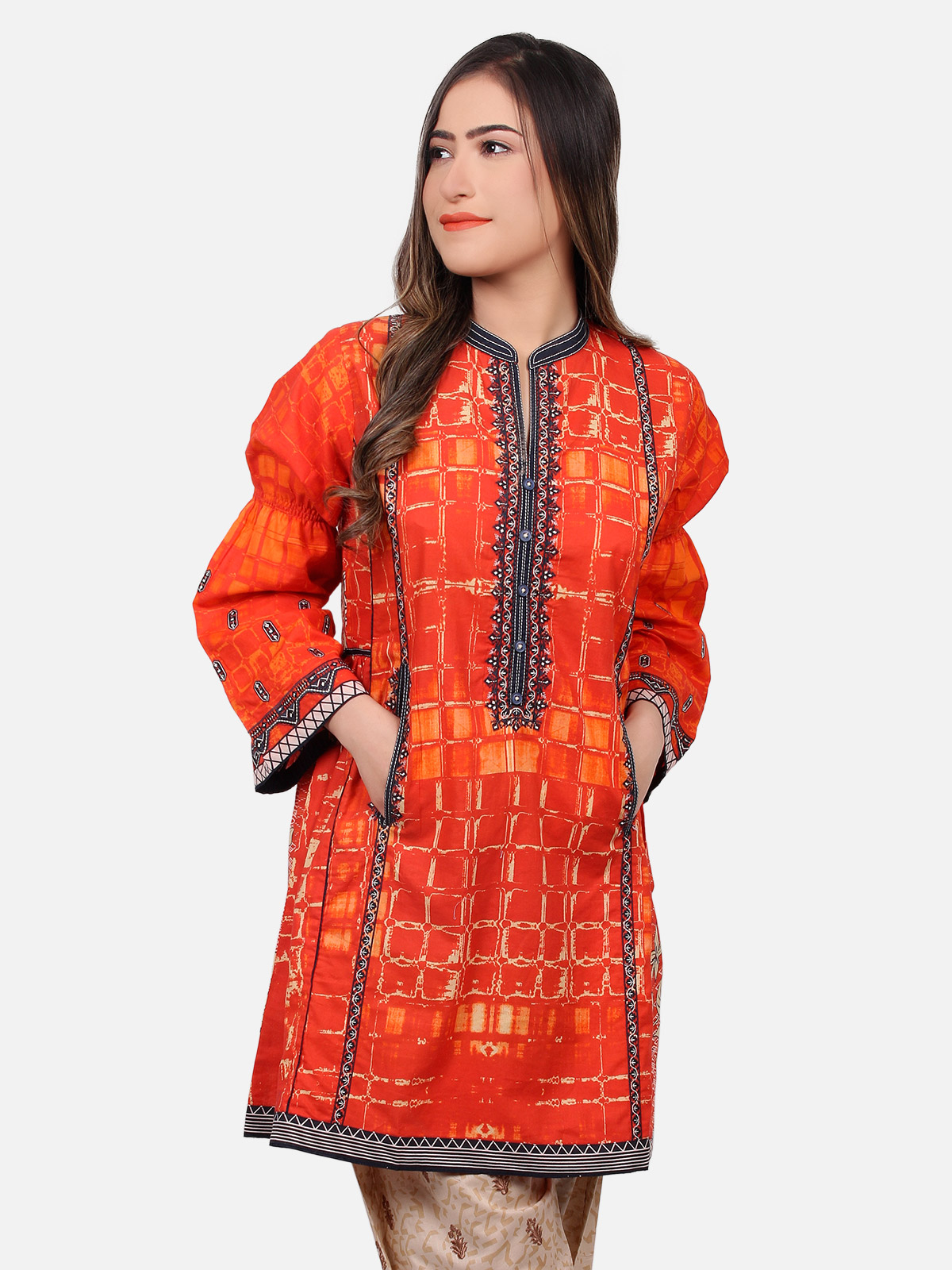 Stylish Funky Women Summer Casual Tops Kurtis 2019 Trends ...