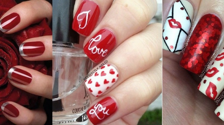 Beautiful & Best Romantic nail art designs to spice up for valentines day