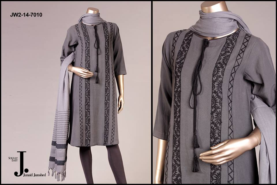 J. Junaid Jamshed Latest Pret Wear Fancy Dresses Collection for Women 2015-2016 (13)