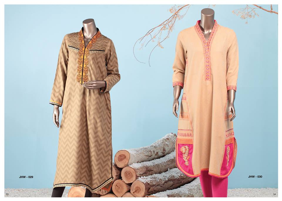 J. Junaid Jamshed Latest Pret Wear Fancy Dresses Collection for Women 2015-2016 (15)