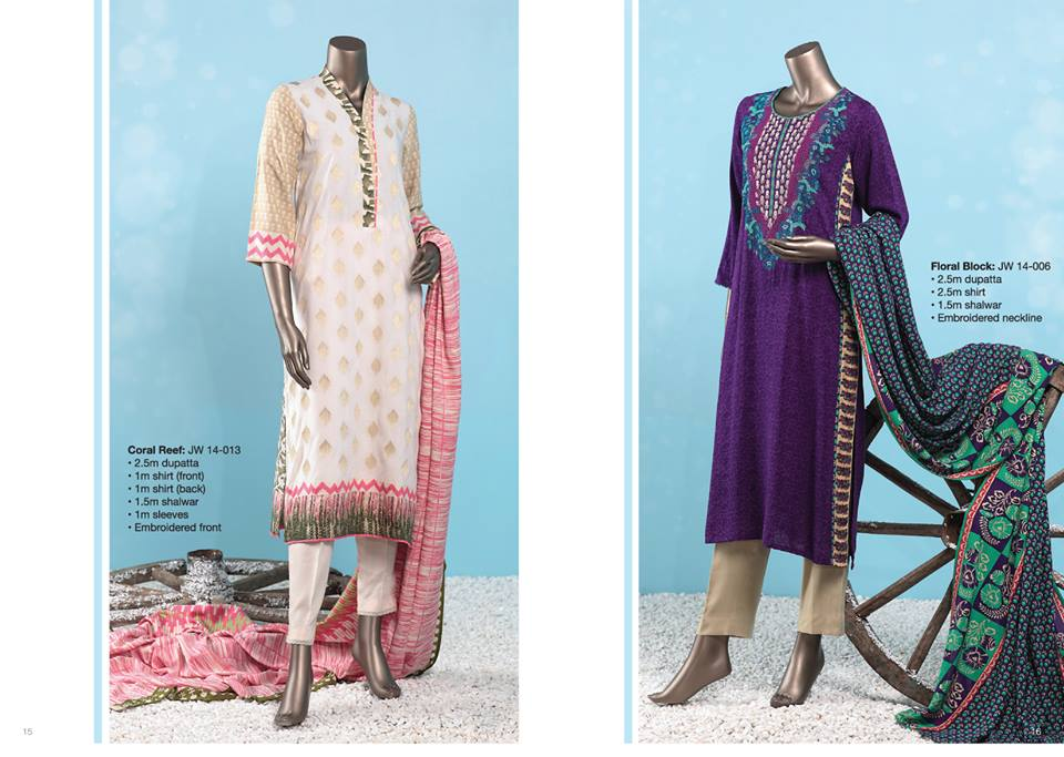 J. Junaid Jamshed Latest Pret Wear Fancy Dresses Collection for Women 2015-2016 (17)