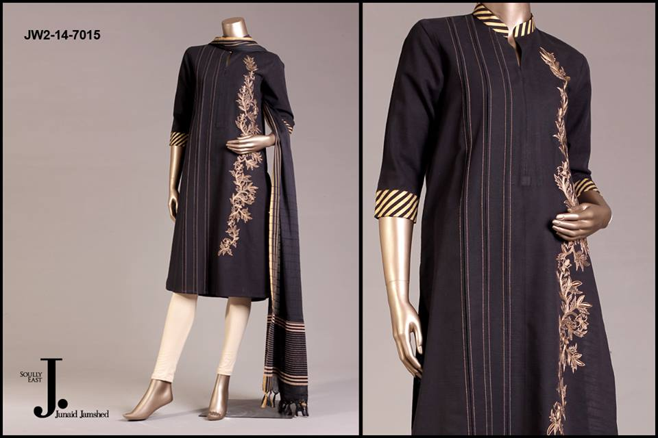 J. Junaid Jamshed Latest Pret Wear Fancy Dresses Collection for Women 2015-2016 (8)