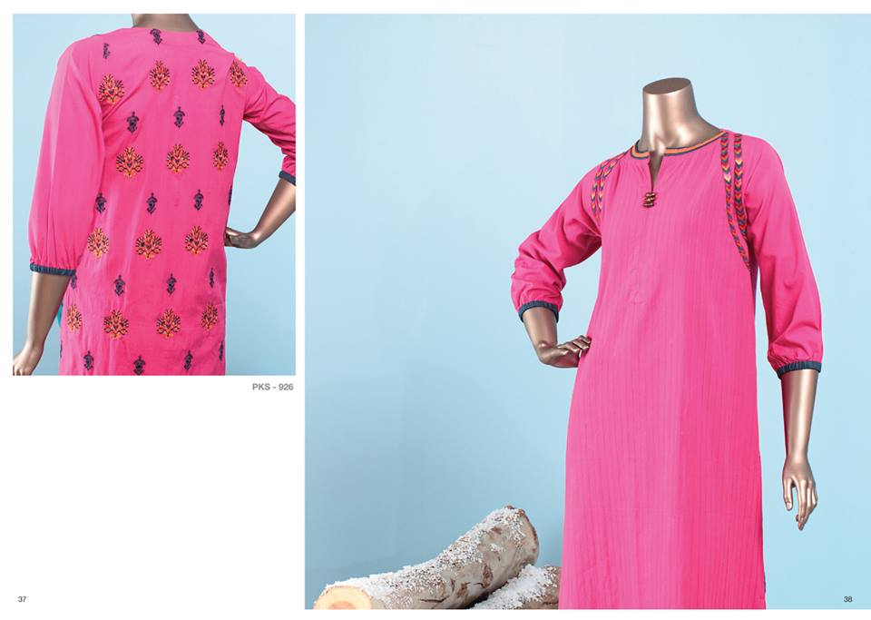 J. Junaid Jamshed Latest Pret Wear Fancy Dresses Collection for Women 2015-2016 (9)