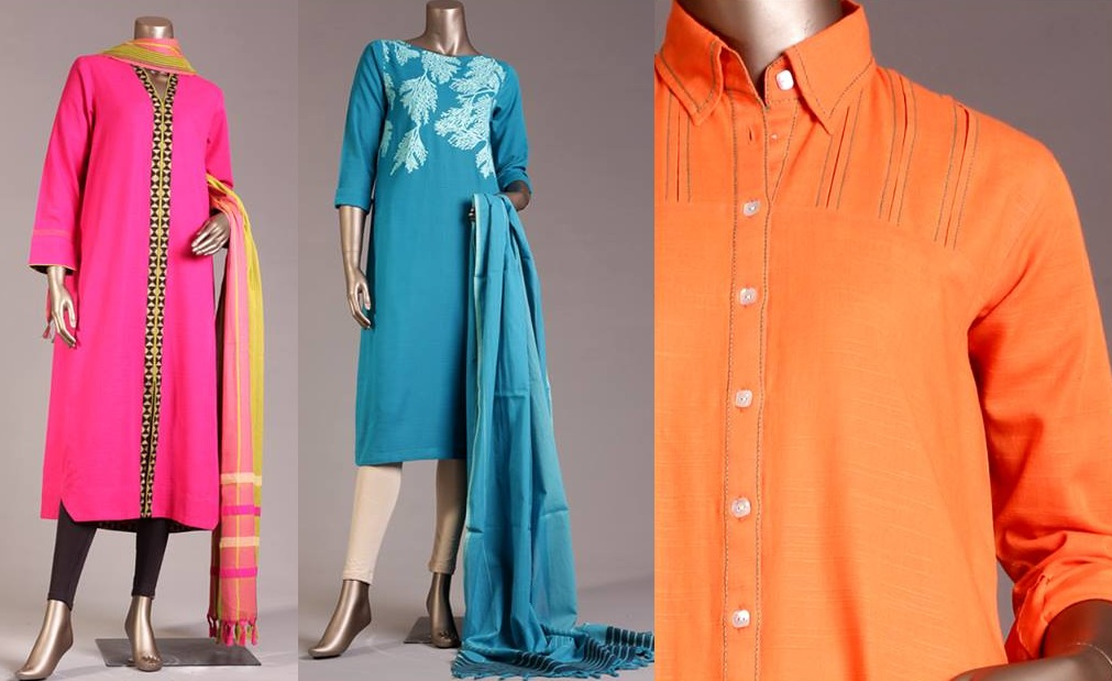Junaid Jamshed Pret Wear Collection Fancy & Embroidered Dresses for Women & Girls