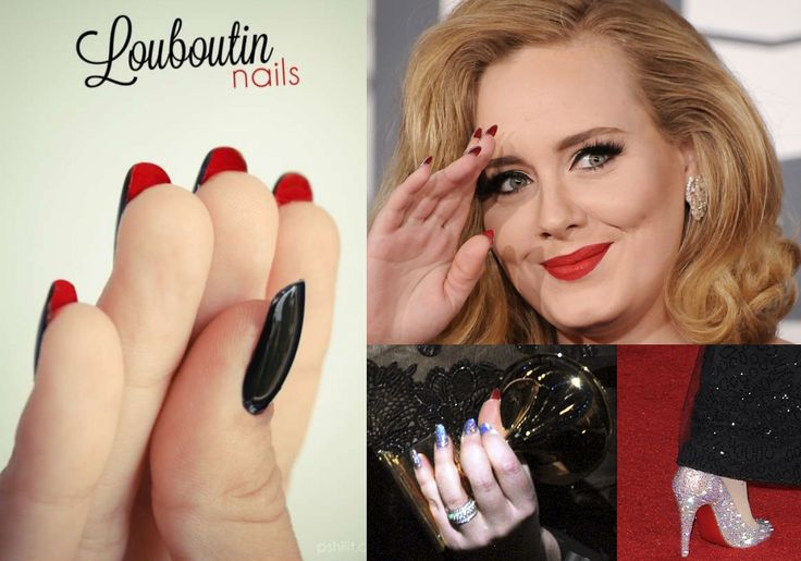 LOUBOUTIN INSPIRED NAIL ARTS - romantic nail art designsBest & Beautiful Nail Art Designs & Ideas to Spice up your Valentines Day (5)