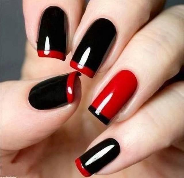 LOUBOUTIN INSPIRED NAIL ARTS - romantic nail art designsBest & Beautiful Nail Art Designs & Ideas to Spice up your Valentines Day (6)