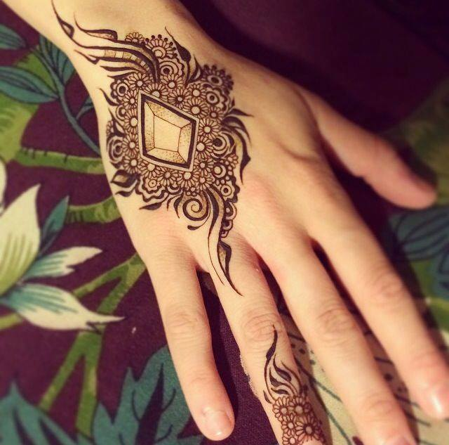 Stylish & Trendy Arabic Mehandi Designs Collection for Hands & Feet 2015-2016 (1)