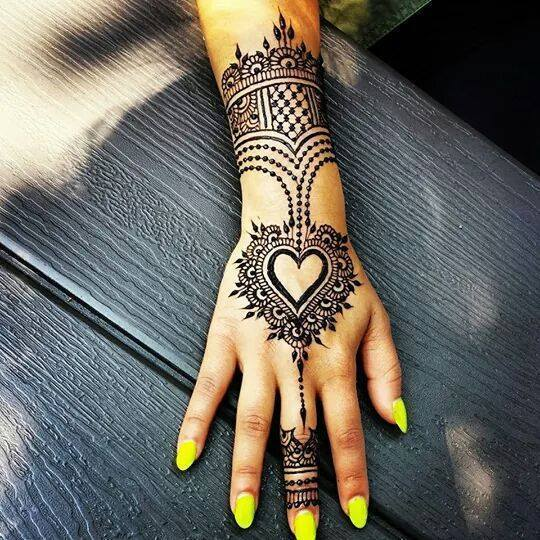 Stylish & Trendy Arabic Mehandi Designs Collection for Hands & Feet 2015-2016 (14)
