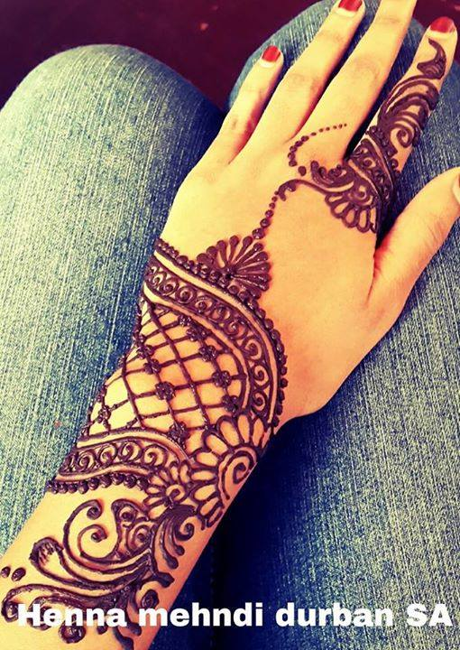 Stylish & Trendy Arabic Mehandi Designs Collection for Hands & Feet 2015-2016 (15)