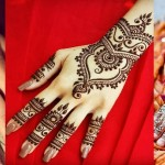 Stylish & Trendy Arabic Mehndi Designs 2017-2018 Collection