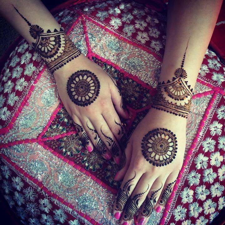 Stylish & Trendy Arabic Mehandi Designs Collection for Hands & Feet 2015-2016 (16)